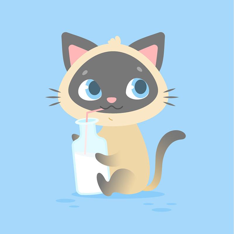 在ai中制作一个可爱的卡通小猫详细教程-部落窝教育