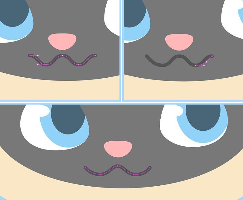 在ai中制作一个可爱的卡通小猫详细教程